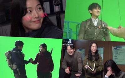 """Watch: """"Jirisan"""" Shows Off Elaborate Set And Cast's Close Chemistry During Filming"""