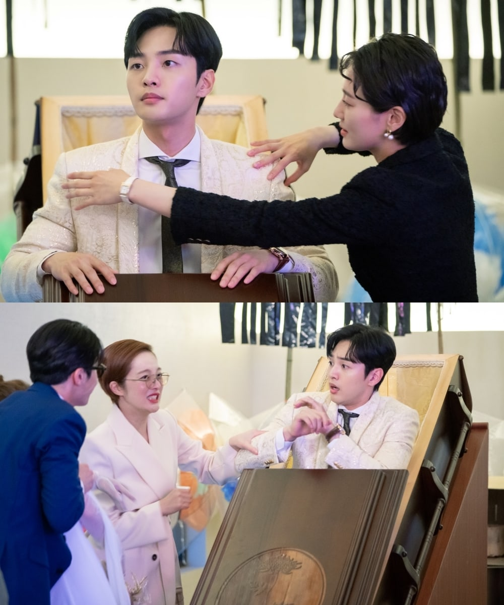 """Park Gyu Young And Kim Min Jae Share A Romantic Moment In """"Dali And Cocky Prince"""""""