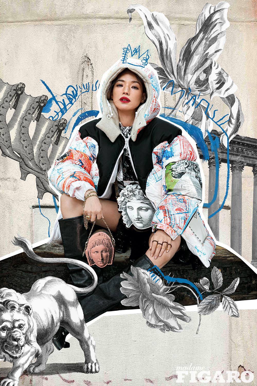 Shu Qi appeared in Madame Figaro magazine